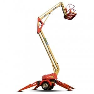 Master Hire 12m Cherry Picker