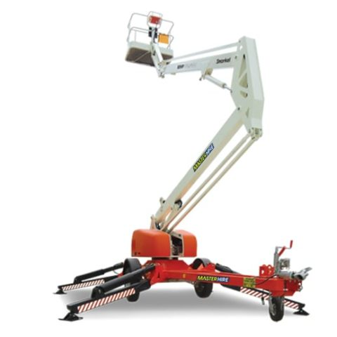 12m Trailer Mounted Boom Lift