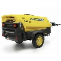 Master Hire 130cfm Air Compressor