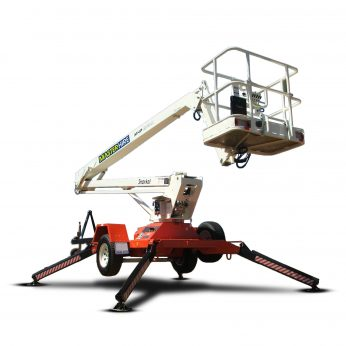 15m Trailer Mounted Boom Lift