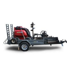 Mini Loader on trailer