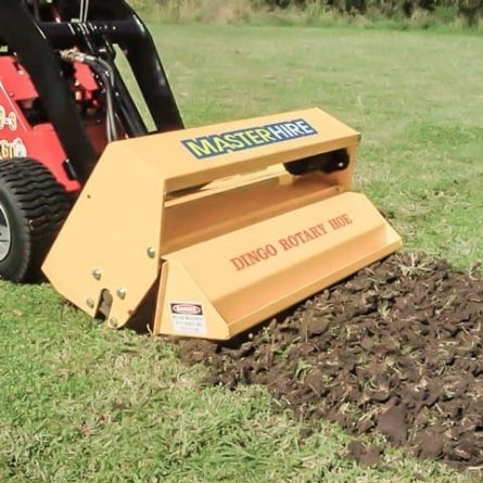 Rotary Hoe Attachment