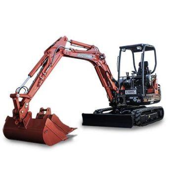 Master Hire 3.3t Excavator