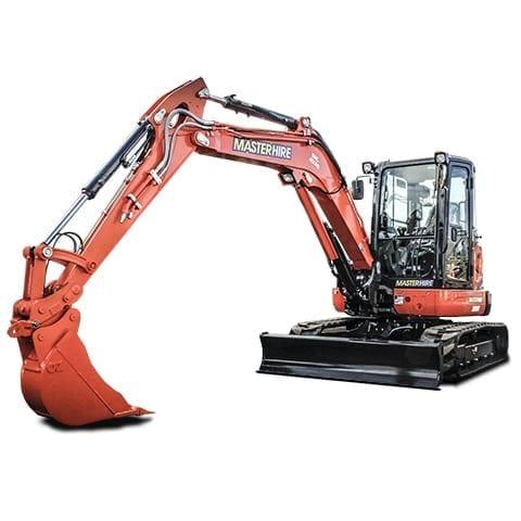 Master Hire 5t Excavator