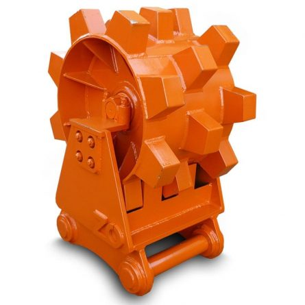 Excavator Compaction Wheel