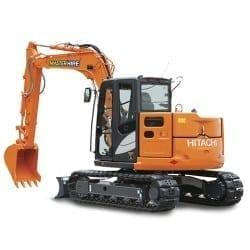 Master Hire 8t Excavator