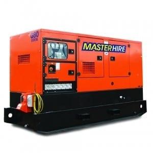 Master Hire 80kva Generator