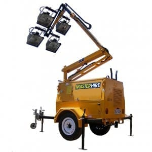 Master Hire Lighting Tower
