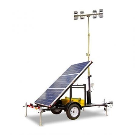 Solar Powered Lighting Tower
