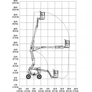 Master-Hire-JLG-340AJ-Working-Envelope