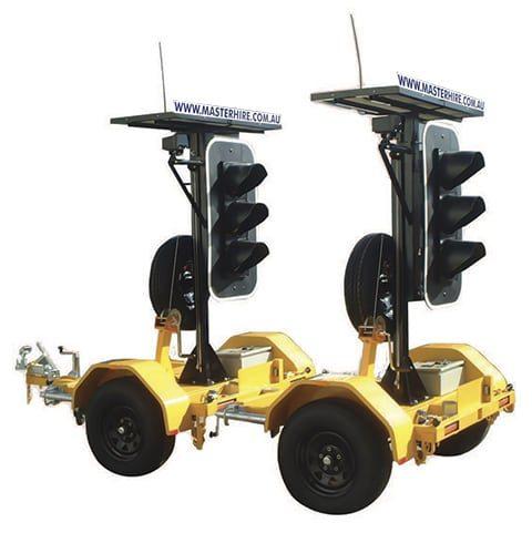 Master Hire Portable Traffic Lights