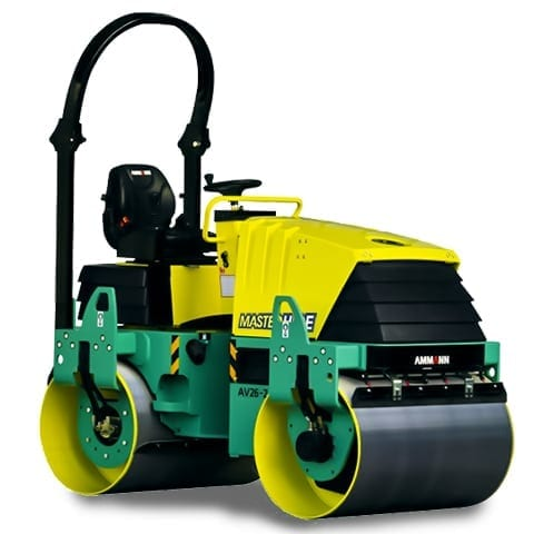 Master Hire 2.6t Roller