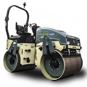 Master Hire 4t Roller