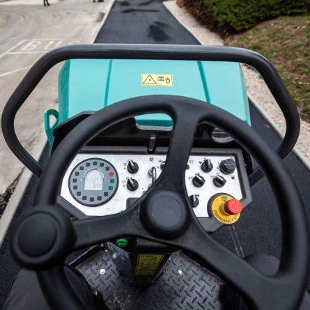4t Tandem Smooth Drum Roller Controls