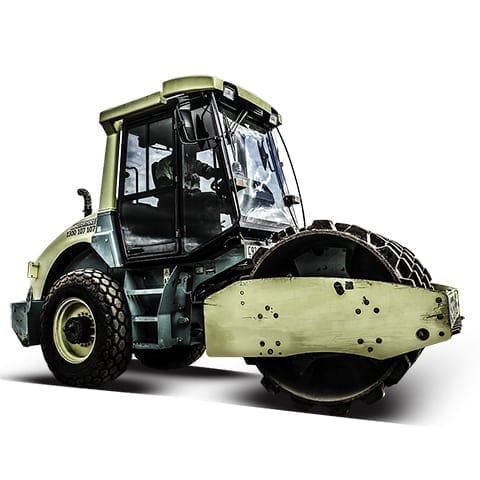 Master Hire 7t Roller
