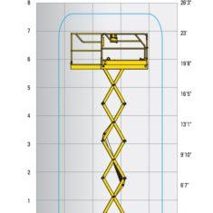 ScissorLift 19-Flight-Pattern