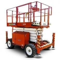 33ft Rough Terrain Scissor Lift