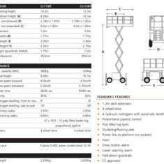 33ft Scissor Lift - Flight Pattern
