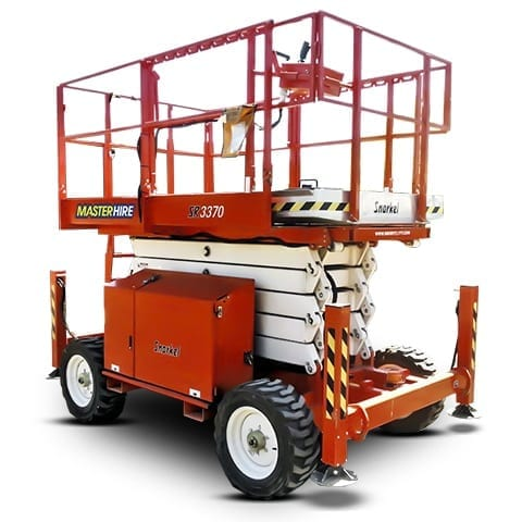 33ft Scissor Lift for Hire | Master Hire - Built on Service