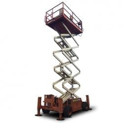 40ft Rough Terrain Scissor Lift