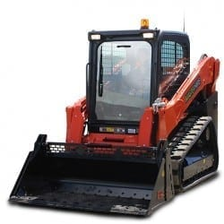 Master Hire Skid Steer Loader