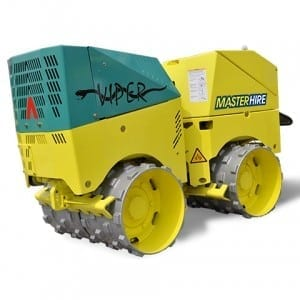 Master Hire Trench Roller
