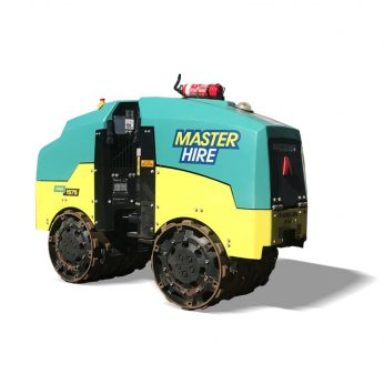 Master Hire Articulated Trench Roller
