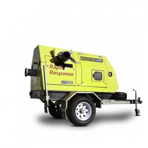 6″ Trailer Mounted Pump