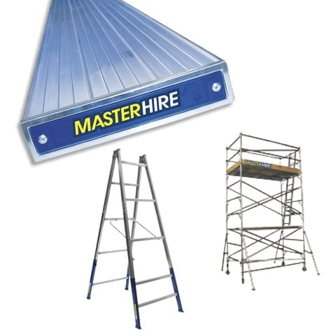 Scaffolding Trestles and Planks