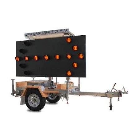 Portable Traffic Arrow Board