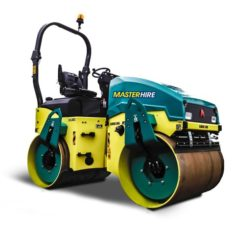 4t Tandem Smooth Drum Roller