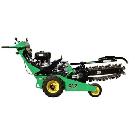 petrol lawn trencher for hire