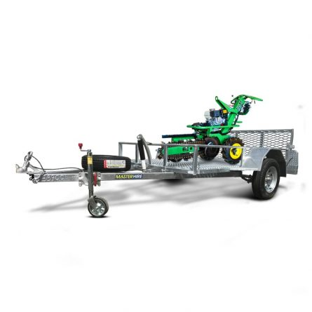 Trencher on a Trailer