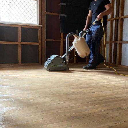 Using a Floor Sander