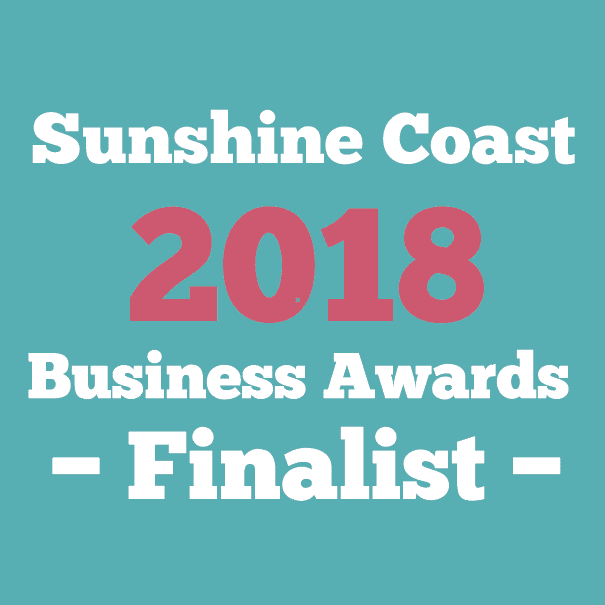 Sunshine Coast 2018 Business Awards Finalist
