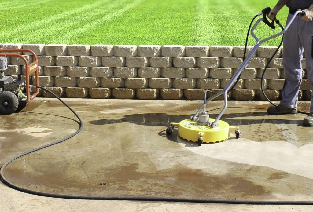Pressure Cleaning Driveways