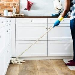 Spring Cleaning Hardwood Floors