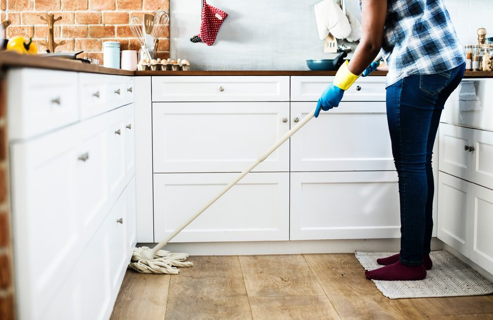 Spring Cleaning Hardwood Floors