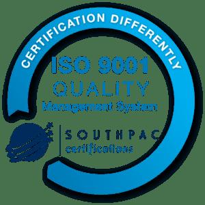 ISO9001:2015 Certification Mark