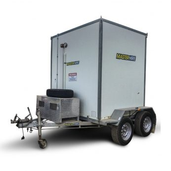 Master Hire's Trailer Mounted Cold Room