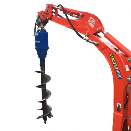 1t Mini Excavator Post Hole Borer Attachment