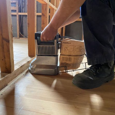 Floor Edgers in Use