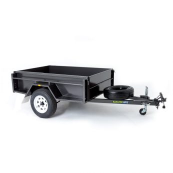 Single Axle 6x4 Box Trailer
