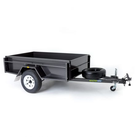 Single Axle 7x4 Box Trailer