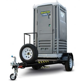 Trailer Mounted Portable Toilets
