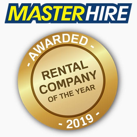 Master Hire 2019 Rental Company of the Year