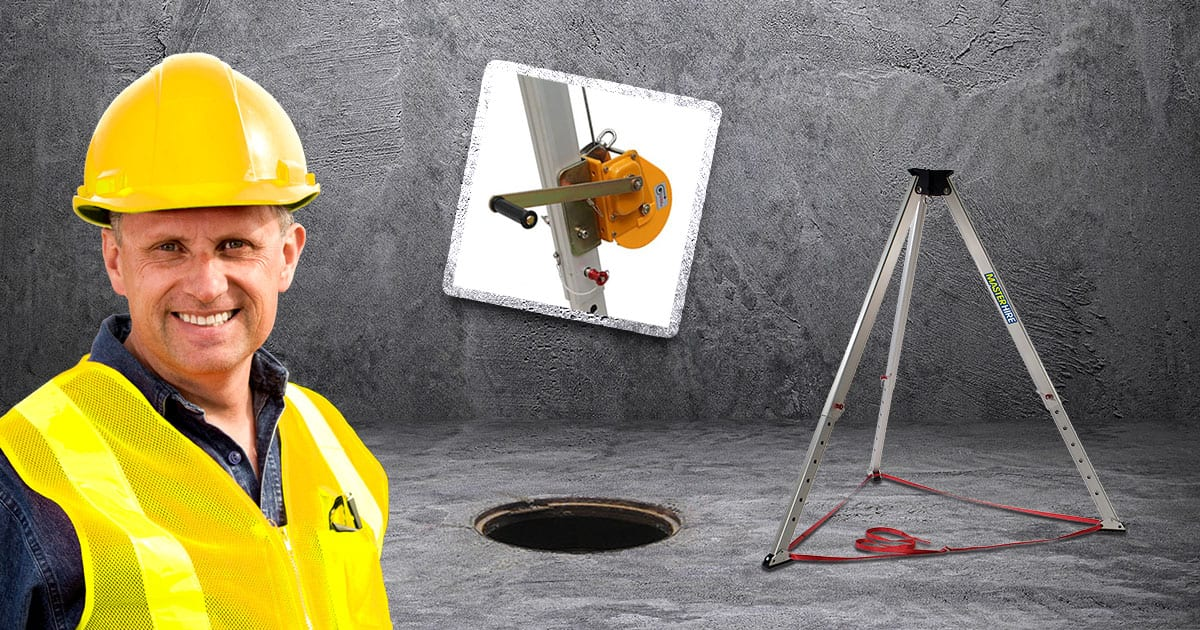 Master Hires Confined Space Tripod & Winch