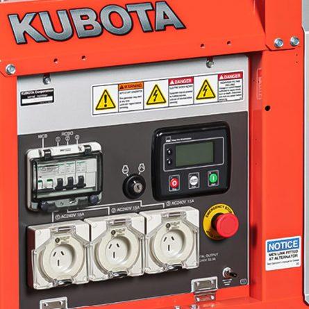 8kva Diesel Generator Control Panel