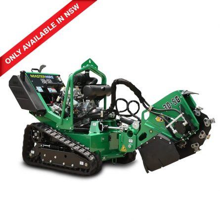 Large Tracked Stump Grinders
