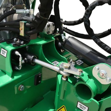 Large Tracked Stump Grinder Hydraulics